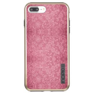 Rose Floral Fabric Texture DualPro Shine Incipio DualPro Shine iPhone 8 Plus/7 Plus Case