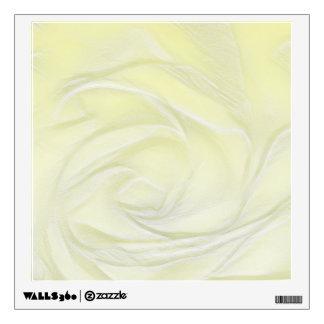 Rose Flower Close-up Wall Sticker