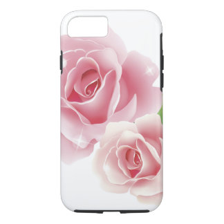 Rose Flower Cute Girly Retro Fine Art iPhone 8/7 Case