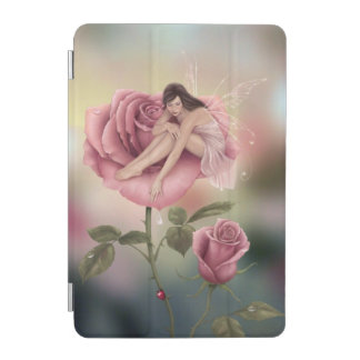 Rose Flower Fairy iPad Mini Cover