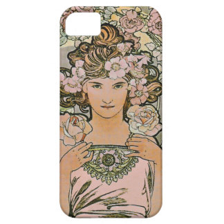Rose Flower Girl Fine Art iPhone 5 Cases