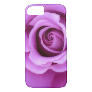 Rose Flower Lavender Purple Pink pretty floral iPhone 8/7 Case
