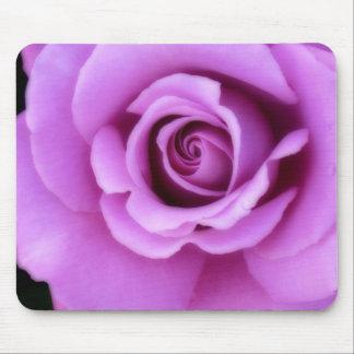 Rose Flower Lavender Purple Pink pretty floral Mouse Pad