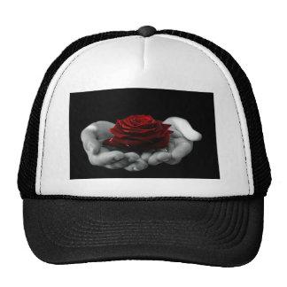 Rose Flower of Love Mesh Hats