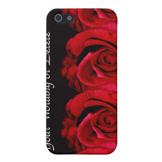 Rose flower red iPhone 5 cover