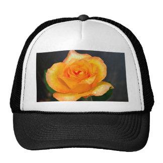 rose  flower trucker hat