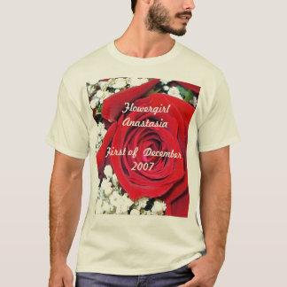 rose, Flowergirl AnastasiaFirst of  December 2007 T-Shirt