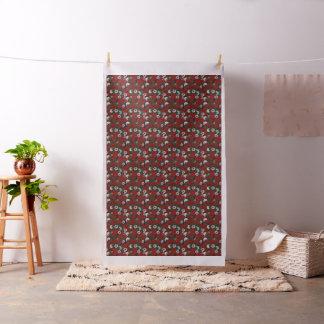 Rose flowers pattern fabric