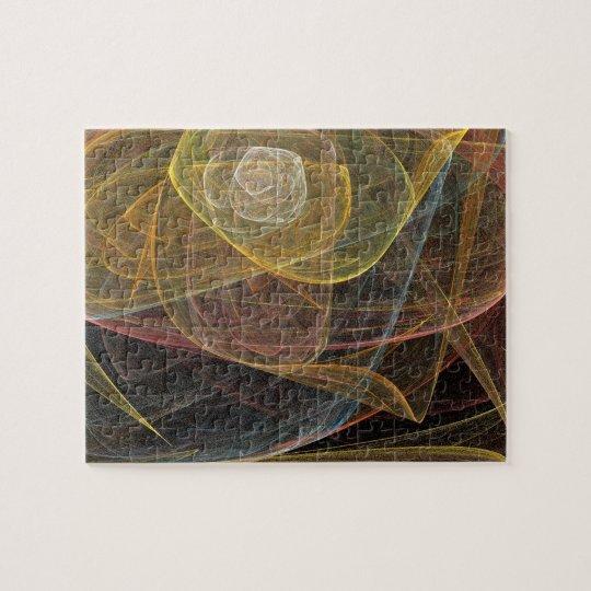 rose fractal puzzle