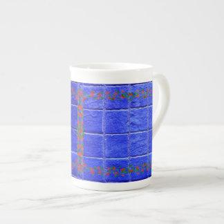 Rose framework tea cup