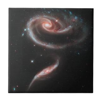 Rose Galaxy Ceramic Tile