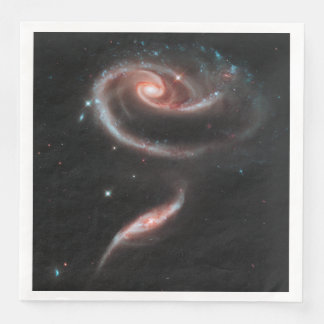 Rose Galaxy Paper Napkins