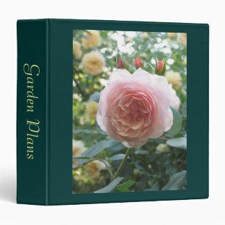 Rose Garden 3 Ring Binder