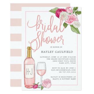 Rosé Garden | Bridal Shower Invitation