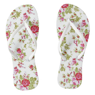 Rose Garden Flip Flops