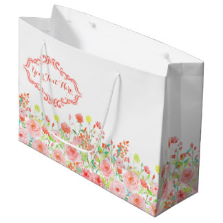 Rose Garden Large Gift Bag