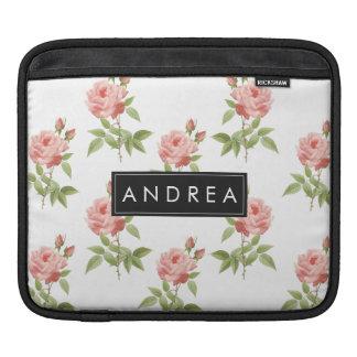 Rose Garden Personalized iPad Sleeve