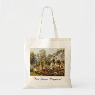 Rose Garden Wargemont by Renoir Budget Tote Bag