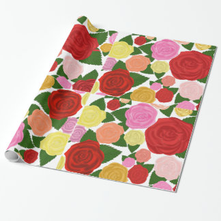 Rose Garden Wrapping Paper