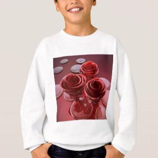 Rose glass sweatshirt