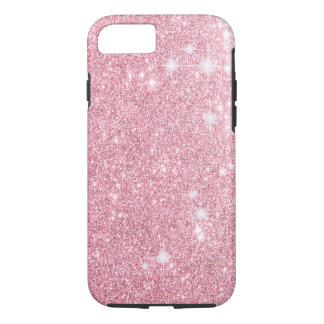 Rose Glitter Shine Look iPhone 7 Case