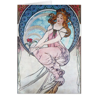Rose Goddess Card