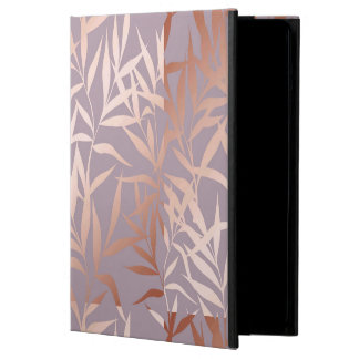 rose gold, asian,leaf,pattern,bamboo trees, beauty iPad air case