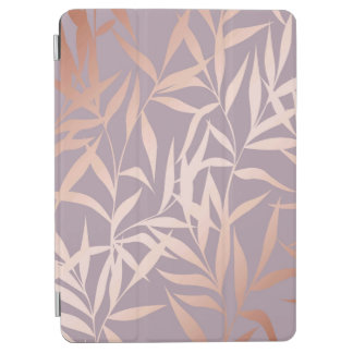 rose gold, asian,leaf,pattern,bamboo trees, beauty iPad air cover