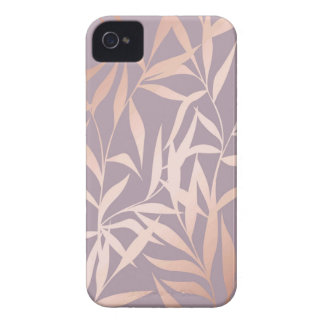 rose gold, asian,leaf,pattern,bamboo trees, beauty iPhone 4 case