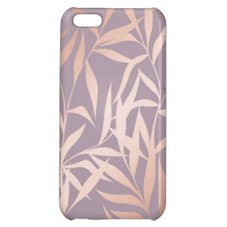 rose gold, asian,leaf,pattern,bamboo trees, beauty iPhone 5C case