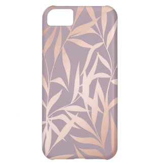 rose gold, asian,leaf,pattern,bamboo trees, beauty iPhone 5C cover