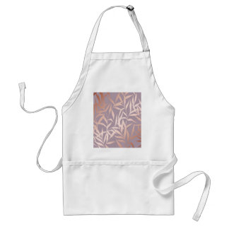 rose gold, asian,leaf,pattern,bamboo trees, beauty standard apron