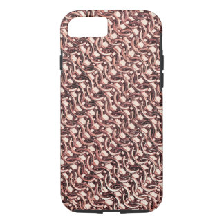 Rose Gold Chainmail Pink Metal Armour Metallic iPhone 8/7 Case
