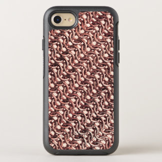 Rose Gold Chainmail Pink Metal Armour Metallic OtterBox Symmetry iPhone 8/7 Case