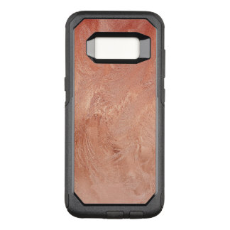 Rose Gold Copper Texture Metallic OtterBox Commuter Samsung Galaxy S8 Case