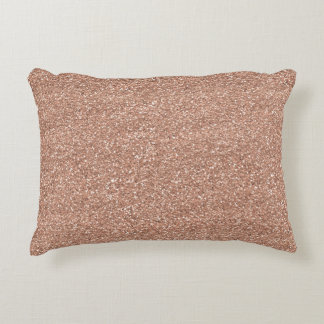 Rose Gold Decorative Pillow