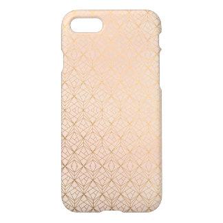 Rose Gold Geometric Mobile iPhone 7 Case