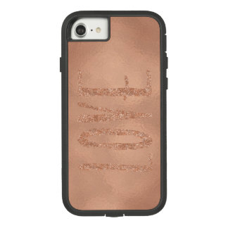 Rose Gold Glam Love Case-Mate Tough Extreme iPhone 8/7 Case