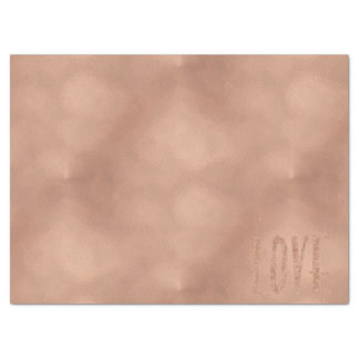 Rose Gold Glam Love Tissue Paper