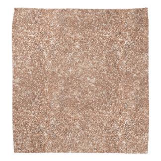 Rose Gold Glitter Do-rags