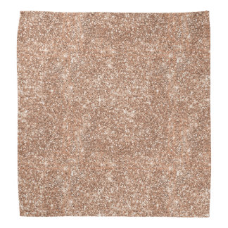 Rose Gold Glitter Kerchiefs