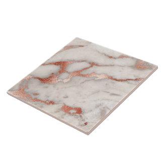 rose gold grey marble tile