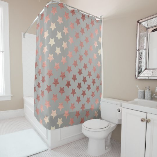 rose gold hollywood stars glamourous shower