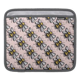 Rose Gold Humble Bumblebee iPas Sleeve iPad Sleeve