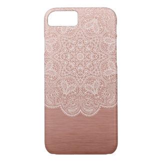 Rose Gold Mandala iPhone 7 Case