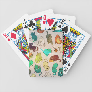 Rose Gold Marble Fashion Design Bicycle Playing Cards