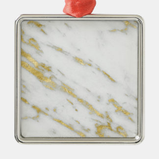 Rose Gold Marble Fashion Metal Ornament