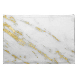 Rose Gold Marble Fashion Placemat