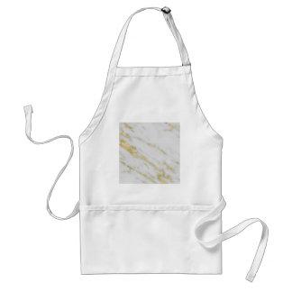 Rose Gold Marble Fashion Standard Apron