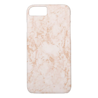 Rose Gold Marble iPhone 7 Phone Case